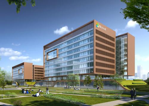 微软(中国)苏州科技园区